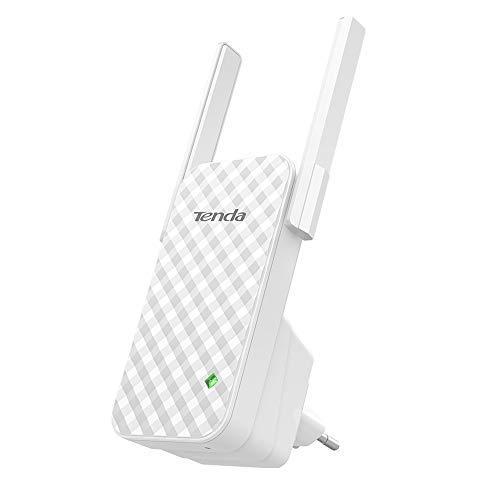 Tenda A9 Ripetitore WiFi 300 Mbps Range Extender Universale, Plug And Play Segnale Forte con 2...