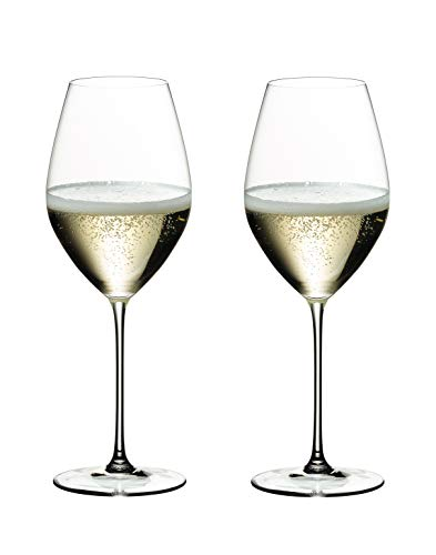 RIEDEL Veritas Calici da Champagne, Set di 2, Clear, 2 Pezzi