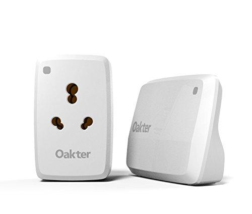 Oakter Smart plug for hi- powered appliances, White