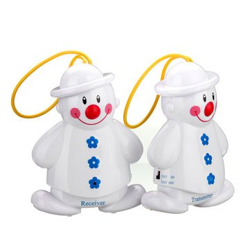 Atoz Prime Lovely Snowman Wireless Baby Cry Detector Monitor Watcher Alarm Hot