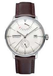 Junkers Herrenuhr Analog Automatisch mit Lederarmband - 60605