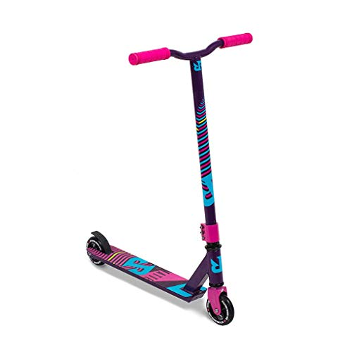 RIPRAIL Matte Monopattini Freestyle finito in Purple Haze con Alloy Deck, Alloy Core Wheels e ABEC-9...