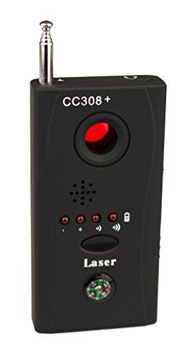 Schnurloser Wanzenfinder KG15 mit Kamera chip Reflektor Wanzensuchgerät Wireless Tap Detector Spionfinder Anti Funkkamera Spy Cam Camera Kamera RF Detektor High Performance Bug Detektor