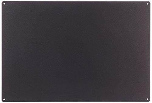 KalaMitica magnetische Kreidetafel aus Stahl. Größe 56x38x0,12cm. Farbe: Anthrazit.