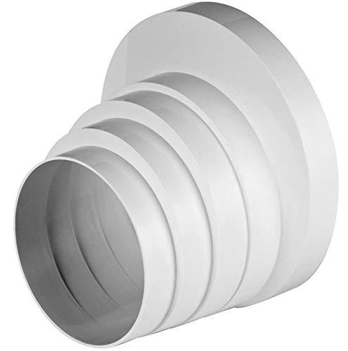 Ø 100110120125150mm Riduttore Riduttore Riduzione passaggio tubo di ventilazione tubo...