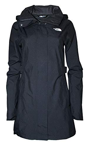 The North Face Women's Laney Trench II Jacket (TNF Black/TNF Black, L)