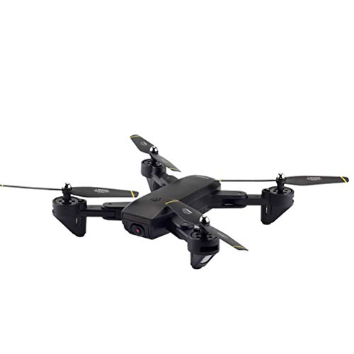 LHJCN Drone Drone GPS con Motore Brushless Potensic Drone D80 WiFi con Telecamera 1080P HD Dual GPS Funzione di RTH, Altitudine Attesa, Allarme Allarme di Bassa Pressione, Black