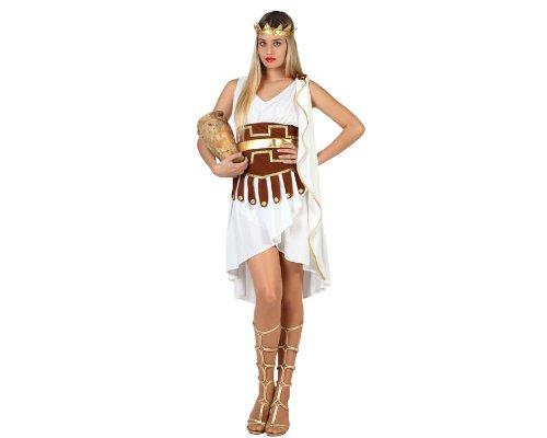 Atosa Disfraz Mujer Griega Color Blanco M-L 22820