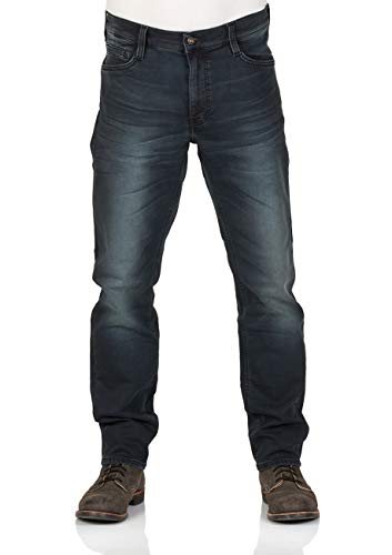 Mustang Herren Jeans Oregon - Tapered Fit - Blau - Denim Blue,...