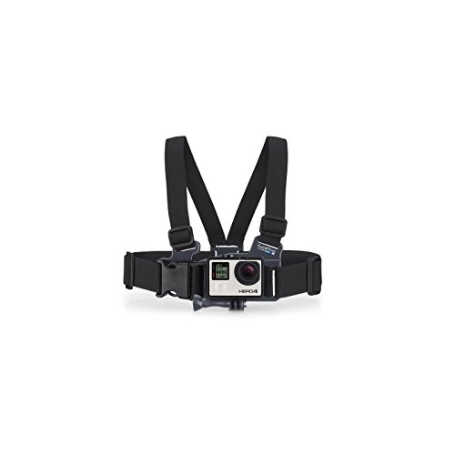 GoPro Jr. Chest Mount Fissaggio per la Videocamera, Adatta per Bambini, Nero/Antracite