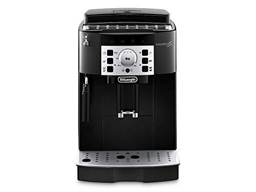 De\'Longhi Magnifica S ECAM 22.110.B - Kaffeevollautomat mit Milchaufschäumdüse, Direktwahltasten & Drehregler, 2-Tassen-Funktion, großer 1,8 l Wassertank, 35,1 x 23,8 x 43 cm, schwarz