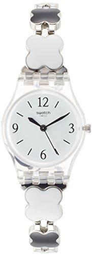 Swatch Orologio da Donna Digitale al Quarzo con Cinturino in Acciaio Inox - LK367G