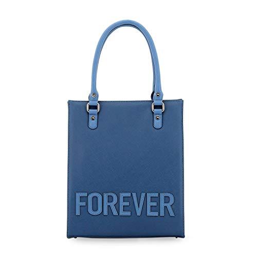DAVIDELFIN - Bolso Tote Forever, Azul