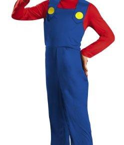 Super Mario–430077–Disfraz Niño clásico–4–6años–rojo
