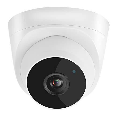 Telecamera di Sicurezza POE Full HD da 5 Megapixel, Telecamera IP per Videosorveglianza da Interno/Esterno con ONVIF, Visione Notturna IR, Rilevamento del Movimento, Visione Remota