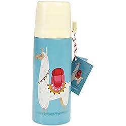 Rex London Llama - Termo y Taza de Acero Inoxidable para niños
