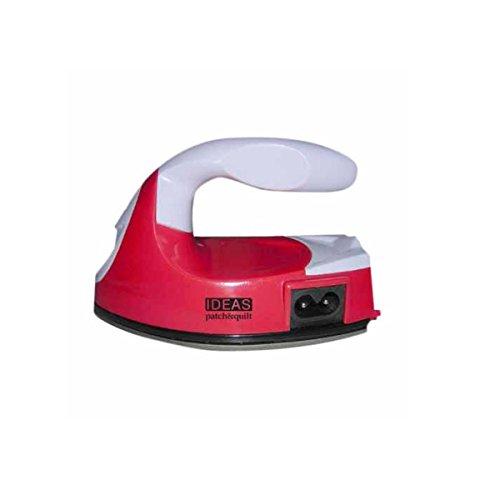 Mini ferro da stiro, funzionante senza vapore, per Patchwork, con base antiaderente Ideale per...