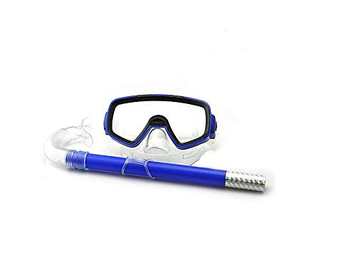 Newlly General Combo Mask and Snorkle Swimming Set (Blue)