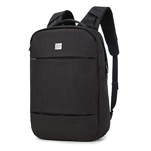 DTBG Water Resistant 17.3 inch Laptop Backpack - Leisure Business Shoulder Bag (D8207W) - Black