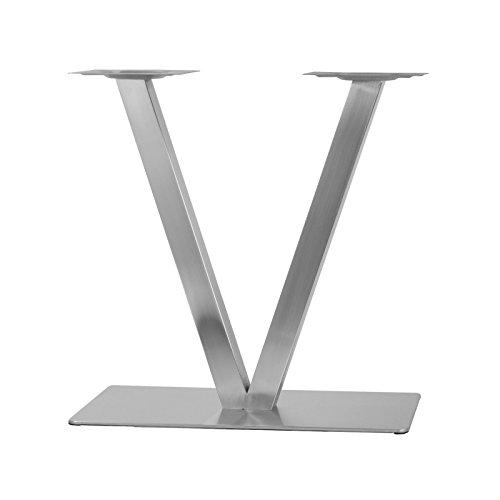 "Edelstahl Tischgestell Modell:\"" V\""Untergestell"