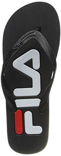 Fila Men Sport Base Troy Slipper, Mocassini Uomo, Nero (Black 25y), 45 EU