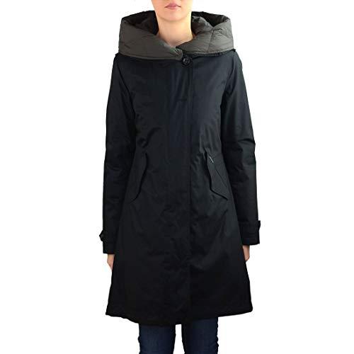 WOOLRICH Luxury Fashion Donna WWCPS2623LM10100 Nero Piumino   Autunno Inverno 19