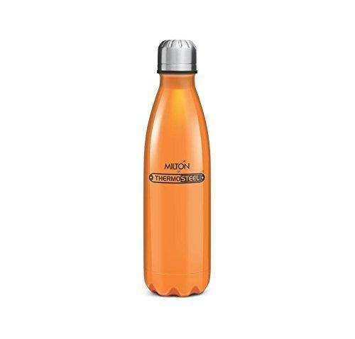 Milton Thermosteel Duo DLX 500ml Insulated Steel Bottle - Orange