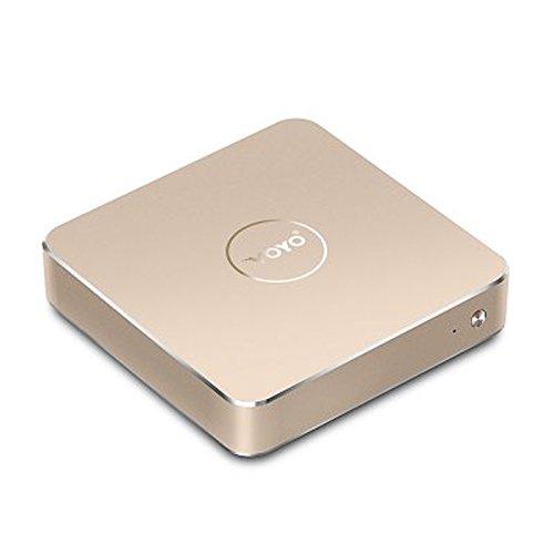 Voyo V1 Mini PC Intel Apollo Lake N4200 8GB RAM 120GB SSD Windows 10.1 WiFi HDMI (golden)