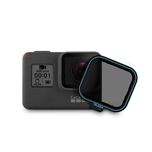 Telesin CPL Fliter 1confezione lente filtro CPL camera Lens Protector filtro polarizzatore circolare con copriobiettivo per GoPro Hero 6/Hero 5(CPL)