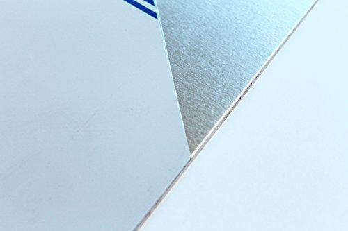 5mm alluminio lavagna in alluminio targa in latta zuschnitt fino a 1000X 1000mm, 600, 800