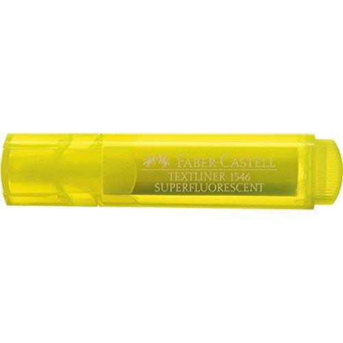 Faber Castell 942205-Textmarker mit transparenten Körper, gelb