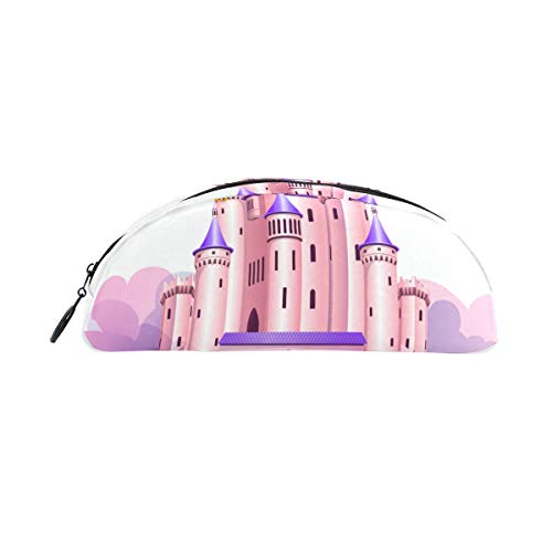 Astuccio per matite rosa Princess Queen Castle Astuccio per penne Organizer Astuccio per astuccio...