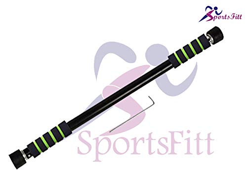 SportsFitt Steel Solid Construction Bar Chin Up Bar for Workout, Fitness Perfect Upper Body Exercise Equipment for Home