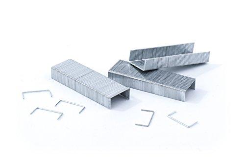 Pavo 8043033punti metallici per cucitrice, 26/6mm, Zincato, 5000pezzi