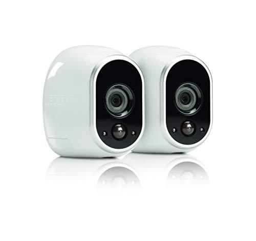 Arlo HD Smart Home 2 HD-Überwachungkamera-Sicherheitssystem (100% kabellos, Indoor/Outdoor,...