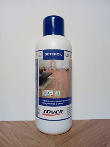 Deteroil bianco Lt. 1 - Sapone naturale indicato per la pulizia frequente dei parquet oliati con...