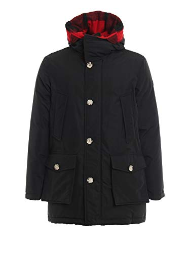Woolrich Luxury Fashion Uomo WOCPS2916UT0108NBL Nero Piumino | Autunno Inverno 19