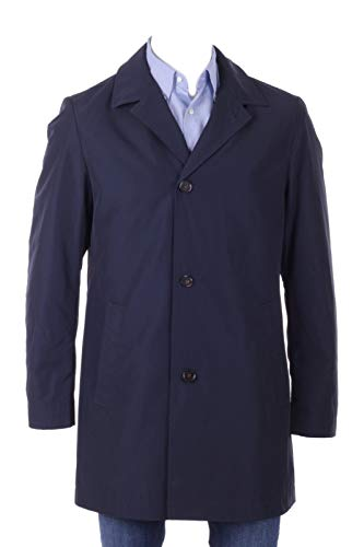 Tommy Hilfiger Tailored Trench Impermeabile Uomo - Colore Blu (50)