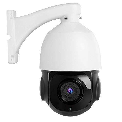 5MP Telecamera PTZ IP Camera esterno 20X Zoom, IP Camera HD Telecamera di sicurezza a cupola con visione notturna IR Indoor/Outdoor IP67 Impermeabile (NON PoE)