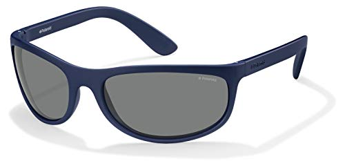 Polaroid P7334 C3 863 63 Gafas de sol, Azul (Bluette/Grey Polarized), Unisex Adulto