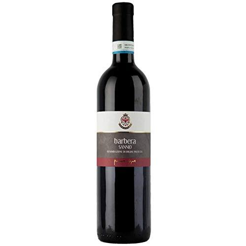 Vino Barbera del Sannio D.O.P. rosso -Cantina di Solopaca - Cartone da 6 Pezzi