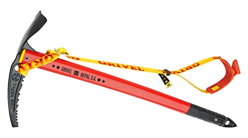GRIVEL - Nepal Sa Plus Piolet C/Ll, Color Red, Talla 66 cm