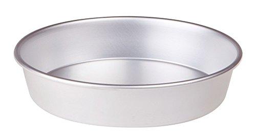 Pentole Agnelli FAMA43/628, Tortiera Conica con Orlo, Alluminio, 28 X 28 X 6 cm