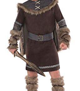 Christy's - Disfraz de vikingo guerrero (talla L/XL)