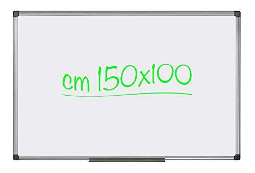 Lavagna Magnetica Bianca 150 x 100 cm