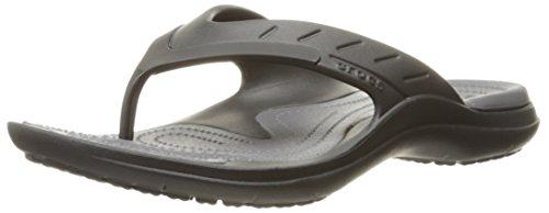 Crocs Modi Sport Flip, Infradito Unisex-Adulto, Nero (Black/Graphite), 41/42 EU