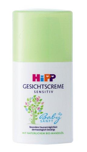 HiPP Babysanft Gesichtscreme, 3er Pack (3 x 50 ml)