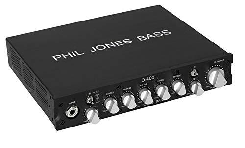 Phil Jones Bass D-400 Compact Bass Amplifier Head, Black