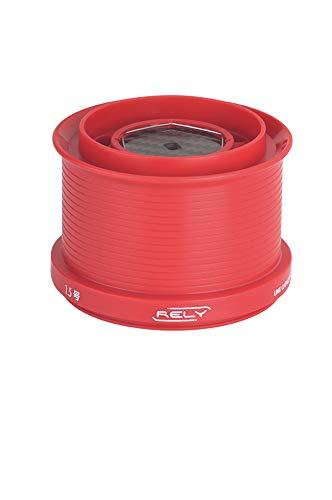 bobina di ricambio rely ul colore RED per mulinelli akami shimano in teflon (red)