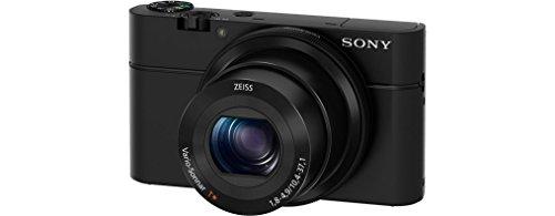 """Sony DSCRX100 - Cámara compacta de 20.2 MP (pantalla de 3"""", zoom óptico 3.6x, estabilizador de imagen óptico), color negro"""